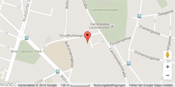 Map Hotel und Palais Strudlhof ****
